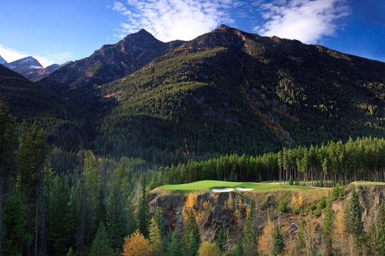 Cliffhanger - Hole 6 - Greywolf Golf Course - Panorama BC
